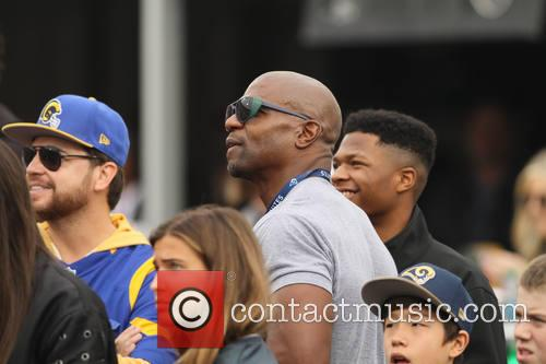 Celebrities out at the Rams game