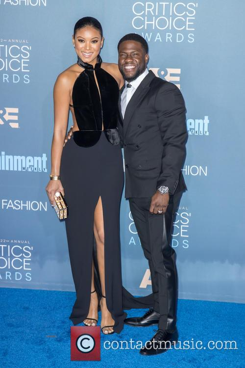 Eniko Parrish and Kevin Hart 3
