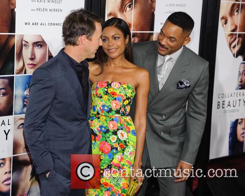Edward Norton, Naomie Harris and Will Smith