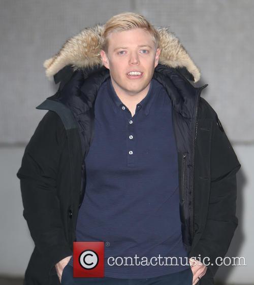 Celebrities at the ITV studios