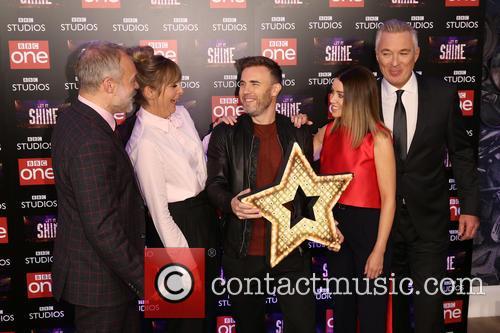 Graham Norton, Mel Giedroyc, Gary Barlow, Dannii Minogue and Martin Kemp 3