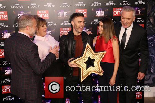 Graham Norton, Mel Giedroyc, Gary Barlow, Dannii Minogue and Martin Kemp 4