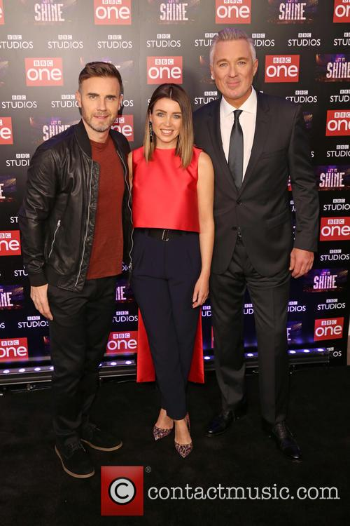 Gary Barlow, Dannii Minogue and Martin Kemp 1