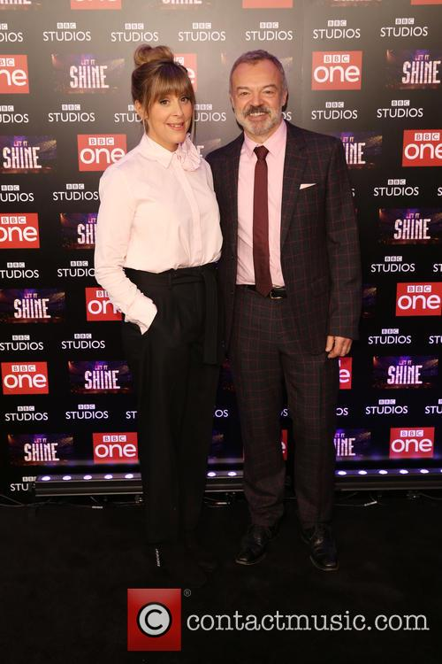 Graham Norton and Mel Giedroyc 10