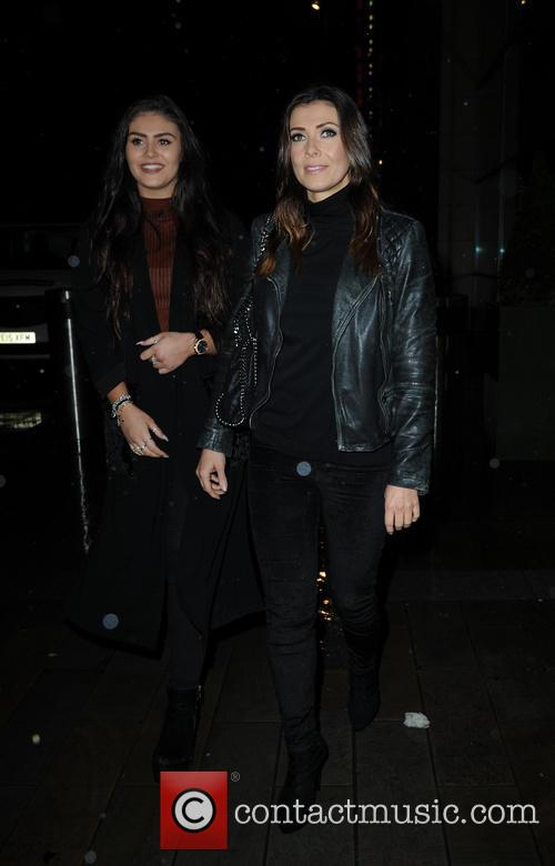 Kym Marsh and Emily Cunliffe 2