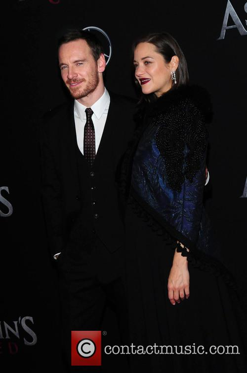 Michael Fassbender and Marion Cotillard. 1