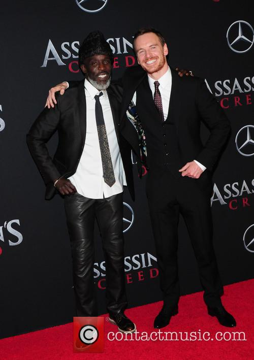 Michael Fassbender and Michael K. Williams 4