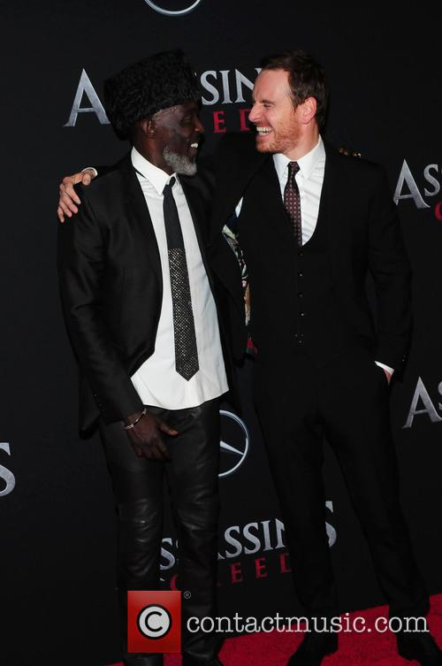 Michael Fassbender and Michael K. Williams 5