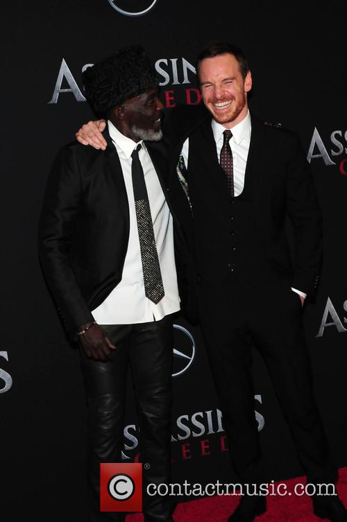Michael Fassbender and Michael K. Williams 6