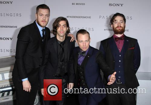 Imagine Dragons, Dan Reynolds, Daniel Wayne Sermon and Ben Mckee 1