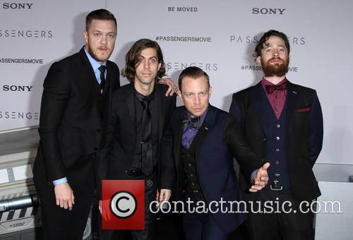 Imagine Dragons, Dan Reynolds, Daniel Wayne Sermon and Ben Mckee 2