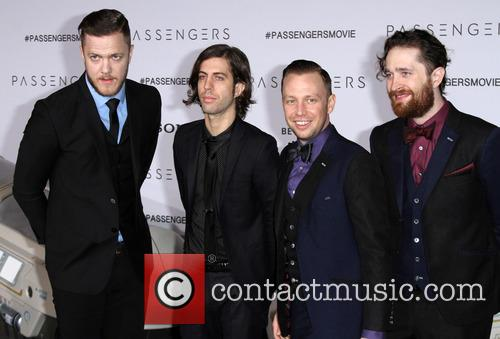 Imagine Dragons, Dan Reynolds, Daniel Wayne Sermon and Ben Mckee 4