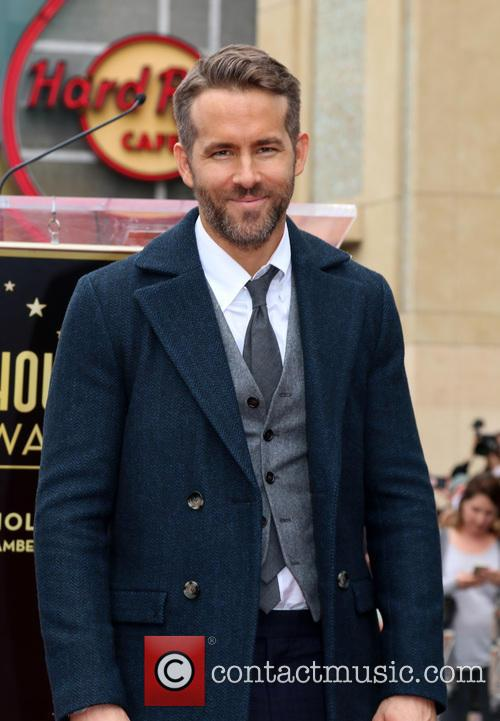 Ryan Reynolds on the Hollywood Walk of Fame