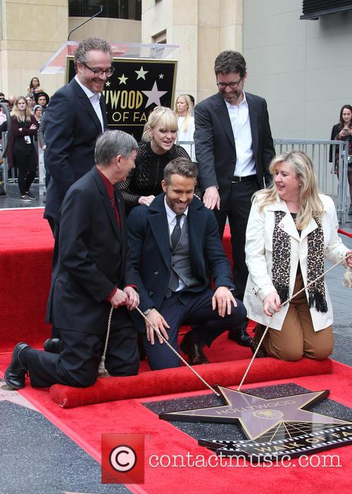 Ryan Reynolds Honored With Star On The Hollywood...