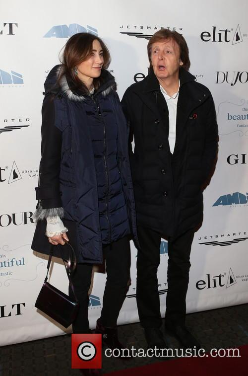 Nancy Shevell and Sir Paul Mccartney