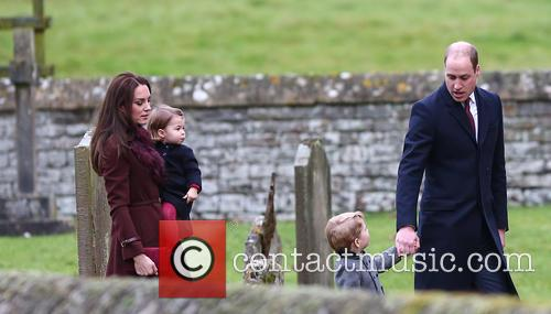Prince William, Duke Of Cambridge, Catherine Duchess Of Cambridge, Kate Middleton, Prince George and Princess Charlotte 9