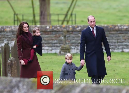 Prince William, Duke Of Cambridge, Catherine Duchess Of Cambridge, Kate Middleton, Prince George and Princess Charlotte 11