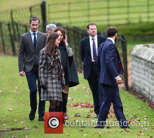 Pippa Middleton, Carole Middleton, James Matthews, Michael Middleton and James Middleton 1
