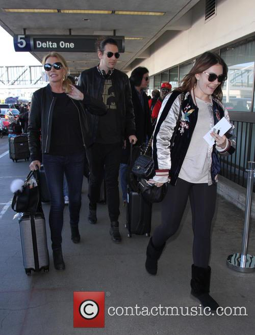 Shannon Tweed, Gene Simmons, Nick Simmons and Sophie Simmons
