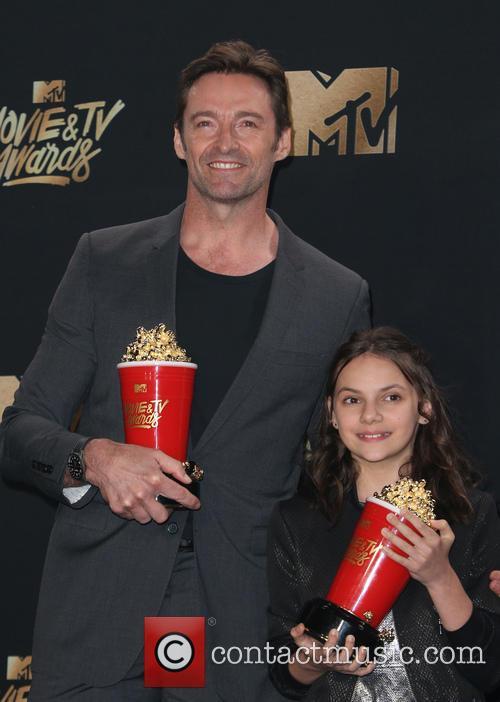 Hugh Jackman and Dafne Keen 2