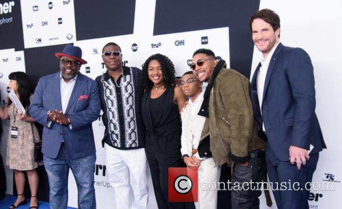 Cedric The Entertainer, Tracy Morgan, Taylor Mosby, Dante Hoagland, Allen Maldonado and Ryan Gaul