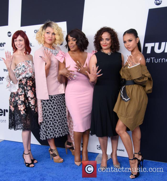 Carrie Preston, Jenn Lyon, Niecy Nash, Judy Reyes and Karrueche Tran