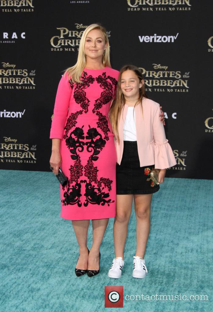 Elisabeth Rohm and Daughter
