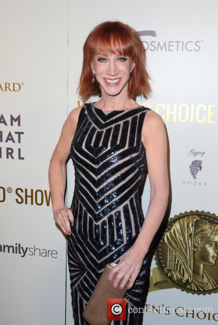 Kathy Griffin at the Women's Choice Awards