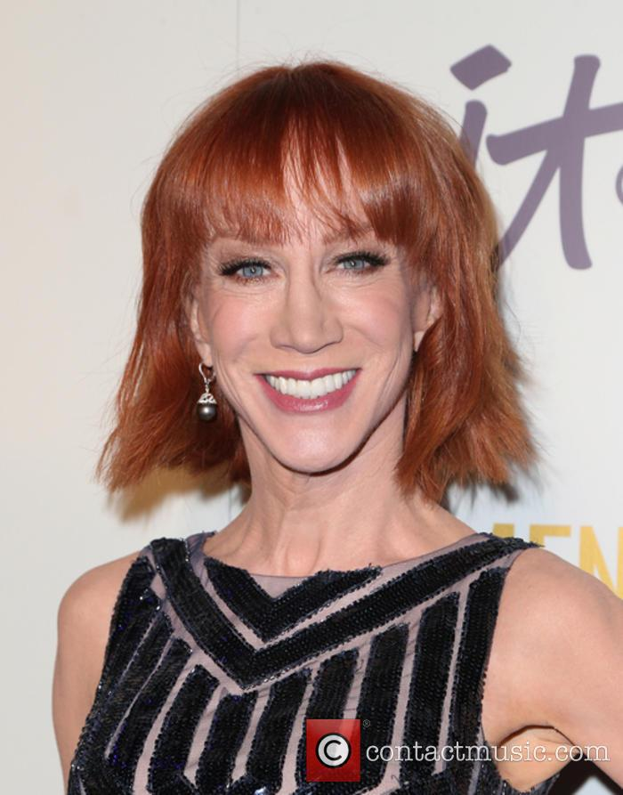 Kathy Griffin at the 2017 Women's Choice Awards