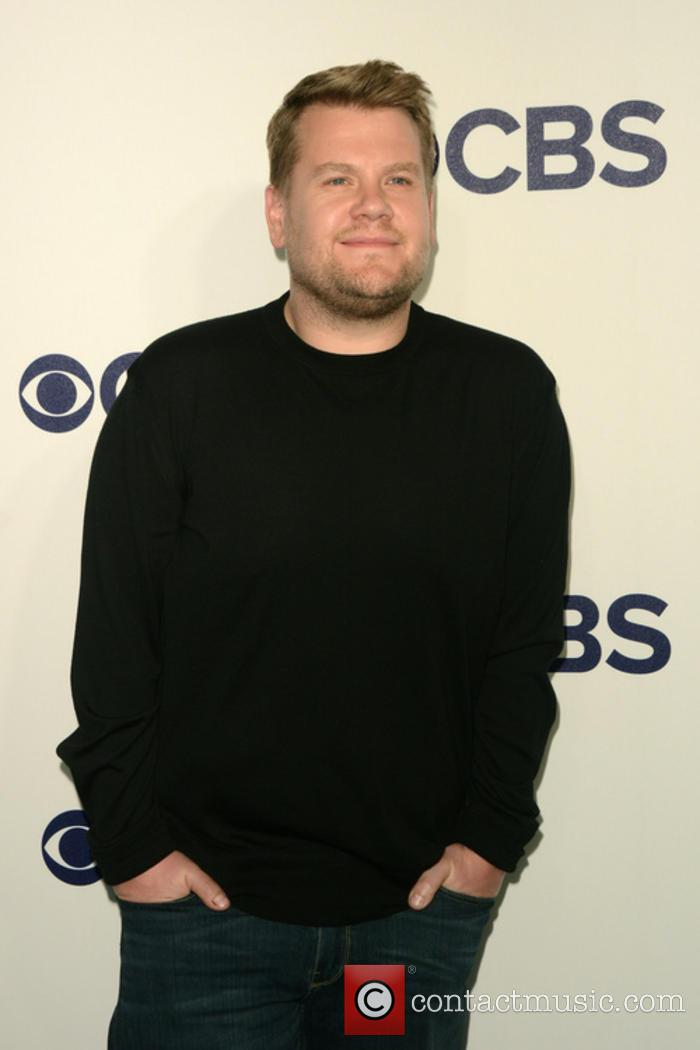 James Corden at 2017 CBS Upfront event