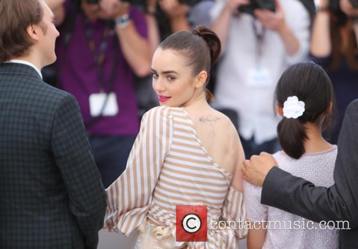 Paul Dano, Lily Collins and Seo-hyeon Ahn