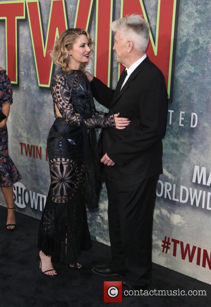 Madchen Amick and David Lynch