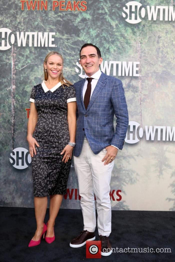 Lauren Bowles and Patrick Fischler