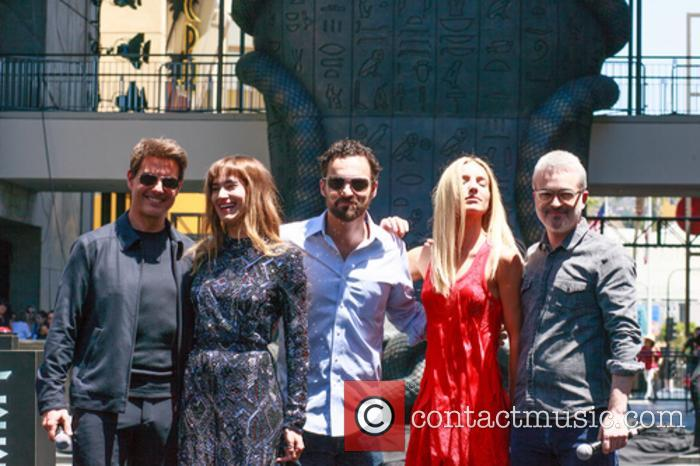 Tom Cruise, Sofia Boutella, Jake Johnson, Annabelle Wallis and Alex Kurtzman 10
