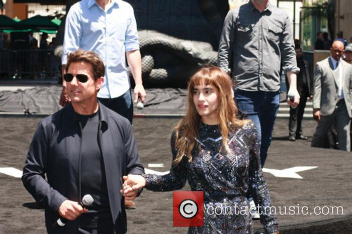 Tom Cruise and Sofia Boutella 11