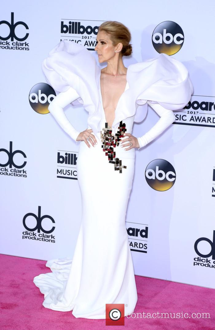 Celine Dion at the 2017 Billboard Music Awards