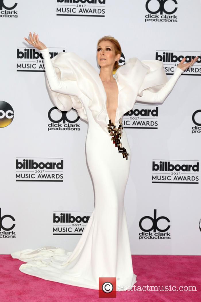 Celine Dion at the 2017 Billboard Music Awards