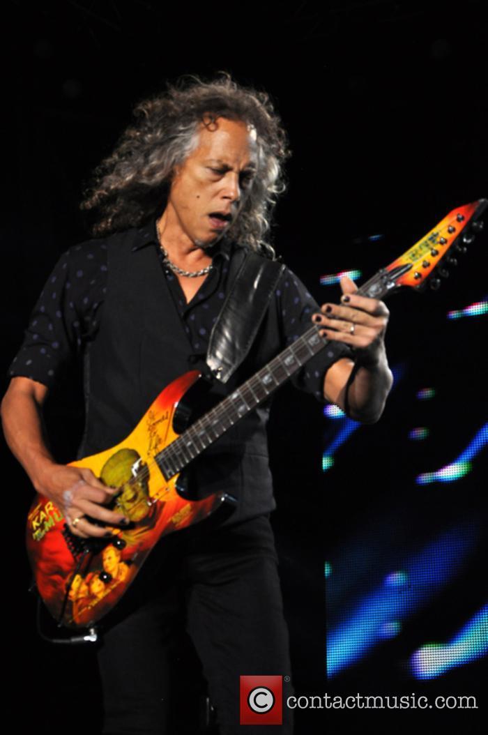 Metallica and Kirk Hammett 2