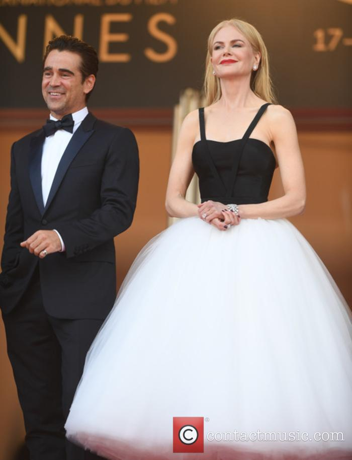 Colin Farrell and Nicole Kidman