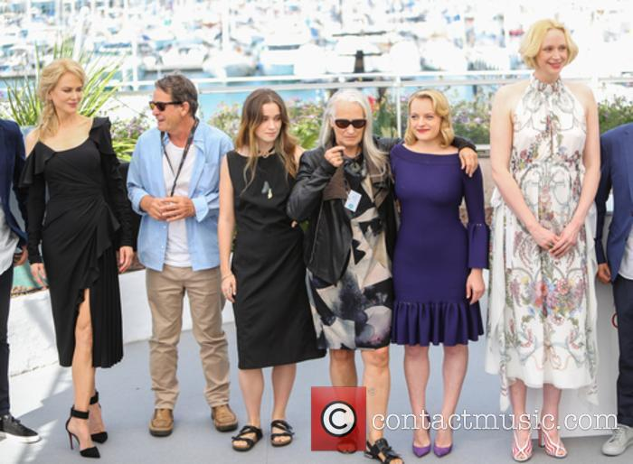 Nicole Kidman, Gerard Lee, Alice Englert, Jane Campion, Elizabeth Moss and Gwendoline Christie 5