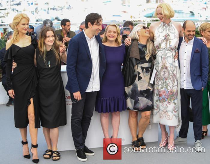 Nicole Kidman, Alice Englert, Ariel Kleiman, Elizabeth Moss, Jane Campion, Gwendoline Christie and Jamie Kousetta