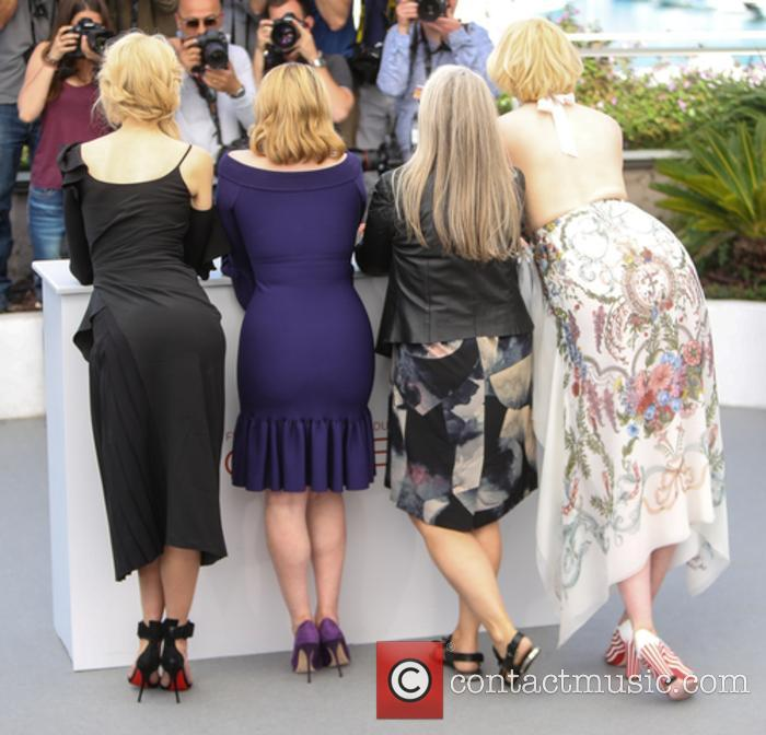 Nicole Kidman, Alice Englert, Jane Campion and Gwendoline Christie