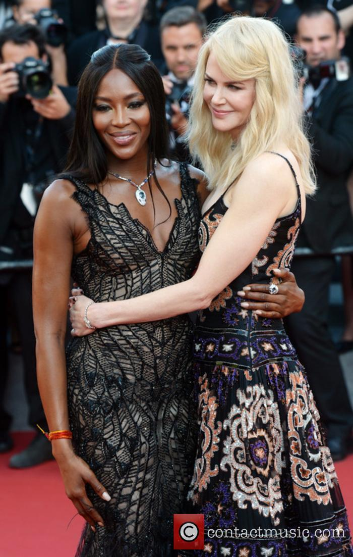 Nicole Kidman and Naomi Campbell