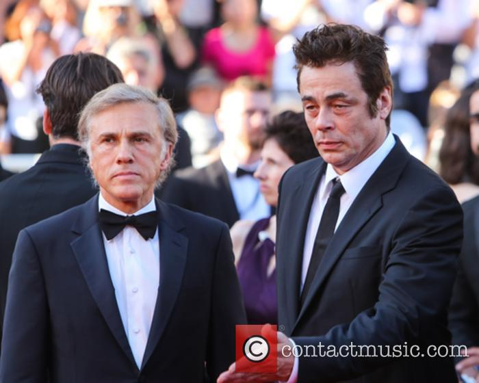 Christopher Waltz and Benicio Del Toro 7