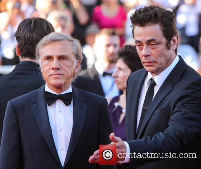 Christopher Waltz and Benicio Del Toro 8