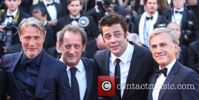 Mads Mikkelsen, Christopher Waltz, Benicio Del Toro and Vincent Lindon
