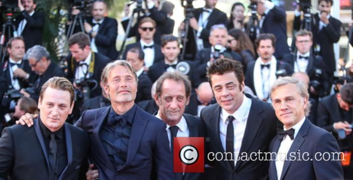 Christopher Waltz, Benicio Del Toro, Vincent Lindon and Benoit Magimel