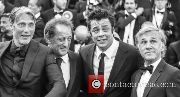 Christopher Waltz, Benicio Del Toro and Vincent Lindon 10