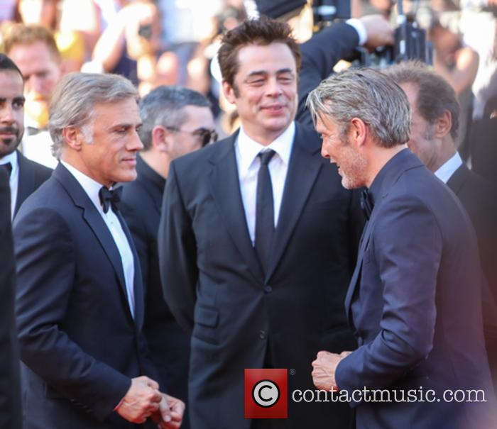Christopher Waltz, Benicio Del Toro and Mads Mikkelsen 1