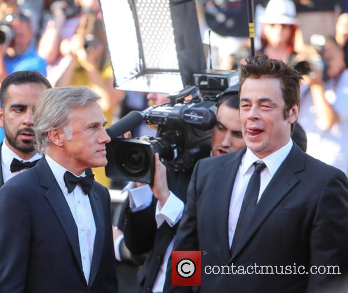 Christopher Waltz and Benicio Del Toro 3